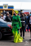 This was how Samira Bawumia showed up at Akufo-Addo's swearing-in [photos+video]