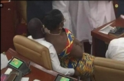 How Ursula Owusu ended up on Akandoh's laps in Parliament