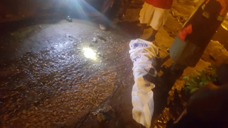 One dead at Awudome after downpour on Sunday
